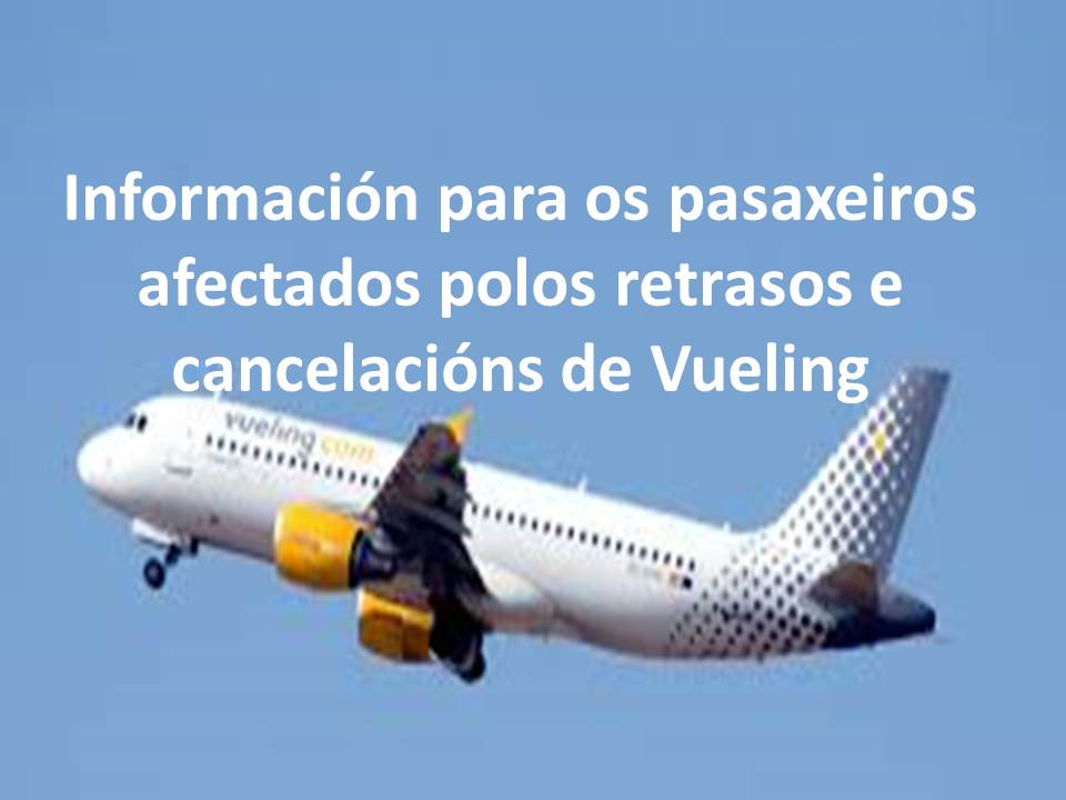 retrasos Vueling