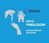 gastos formalización