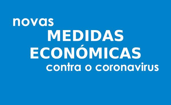 Novas medidas económicas contra o coronavirus