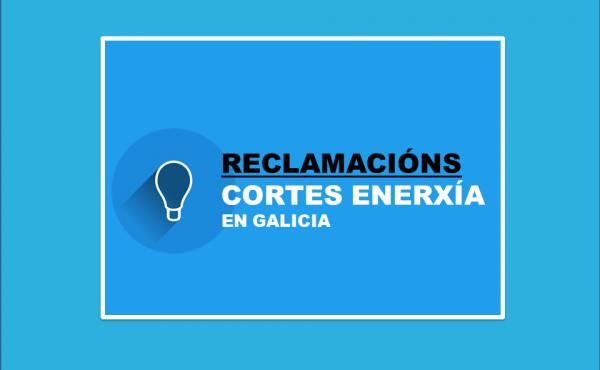RECLAMACION CORTES ENERXIA ELECTRICA