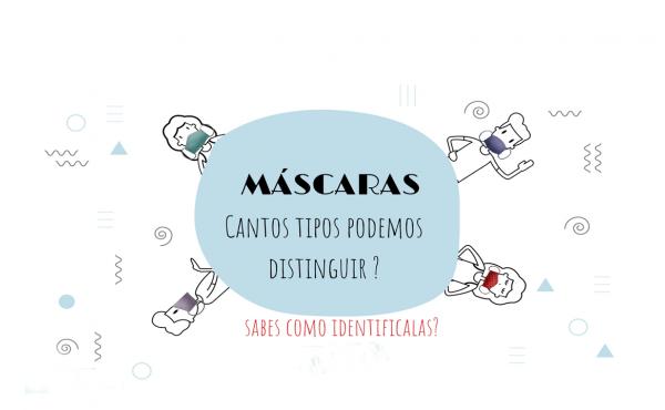 TIPOS DE MASCARILLAS