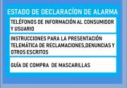 telefonos informacion Estado Alarma
