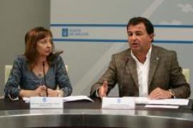Javier Guerra durante a súa comparecencia ante os medios