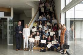 Os galardóns desta iniciativa impulsada pola Xunta na que participaron 700 alumnos de toda Galicia