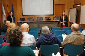 La directora general  Comercio y Consumo, Sol Vázquez Abeal, participó  en Ferrol en la primera  jornada incluidas en la campaña