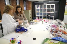 A directora xeral de Comercio e Consumo, Sol Vázquez, visitou hoxe o Laboratorio de Consumo de Galicia