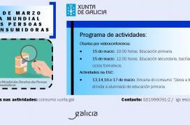 Programa actividades Día Mundial Persoas Consumidoras