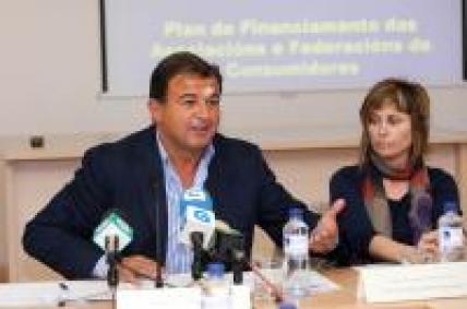O conselleiro de Economía e Industria presentou hoxe en Santiago o novo plan de financiamento