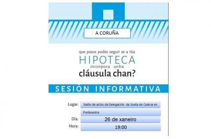 Xornada Informativa Cláusulas Chan Pontevedra