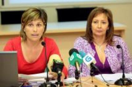 A directora xeral de Comercio e a xerente do IGC, compareceron en rolda de prensa para dar conta das actividades no 2009